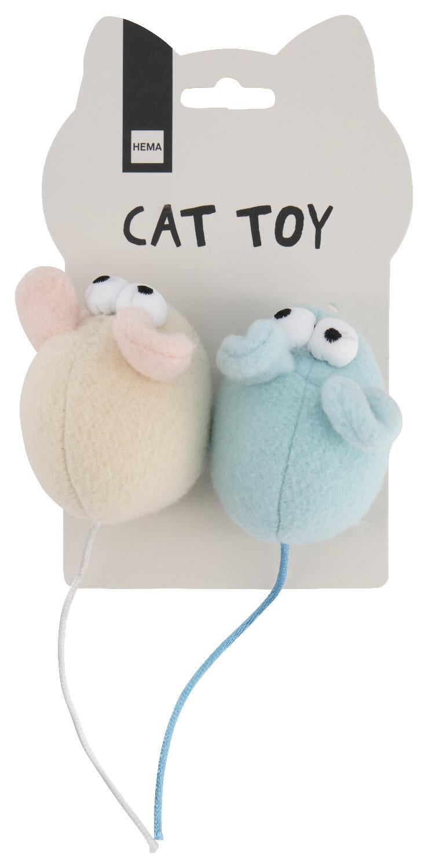HEMA Kattenspeeltjes Muis 2 Stuks