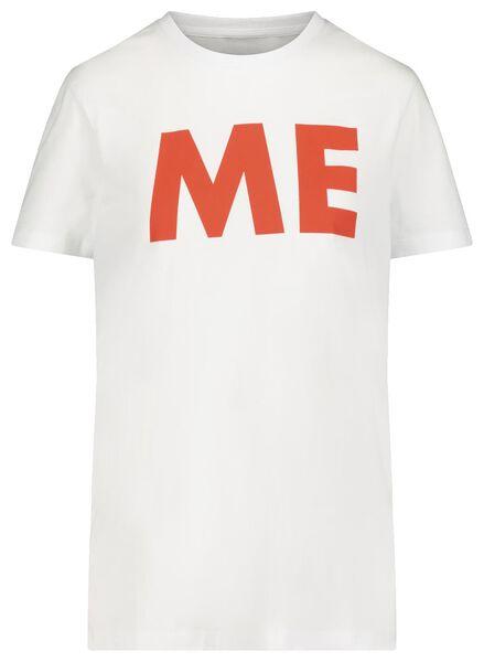 t-shirt voor volwassenen - mini-me oranje oranje - 1000019295 - HEMA