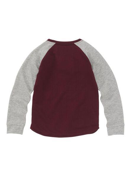 kindersweater grijsmelange grijsmelange - 1000008596 - HEMA