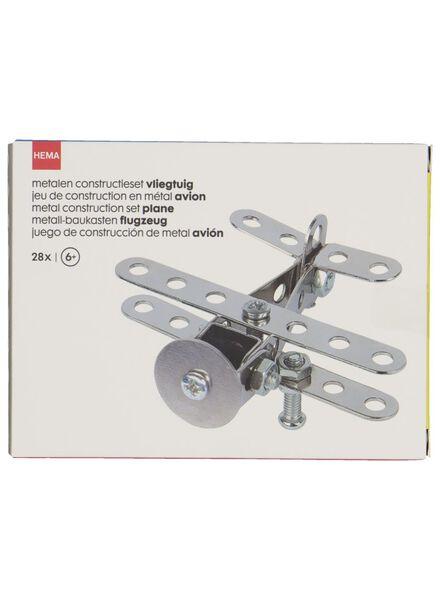 constructieset vliegtuig metaal - 15190310 - HEMA