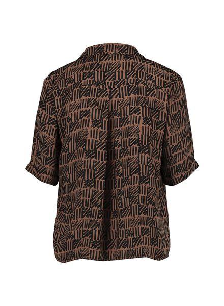 dames shirt cognac cognac - 1000014347 - HEMA