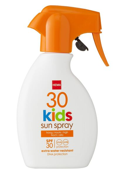 kids zonnemelk spray SPF 30 - 11610121 - HEMA