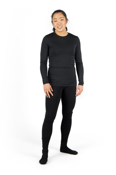 dames sportlegging zwart zwart - 1000017834 - HEMA
