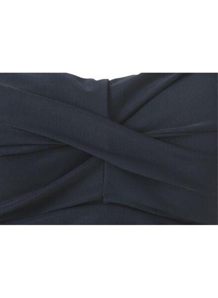 dames badpak strapless medium control recycled blauw blauw - 1000017914 - HEMA