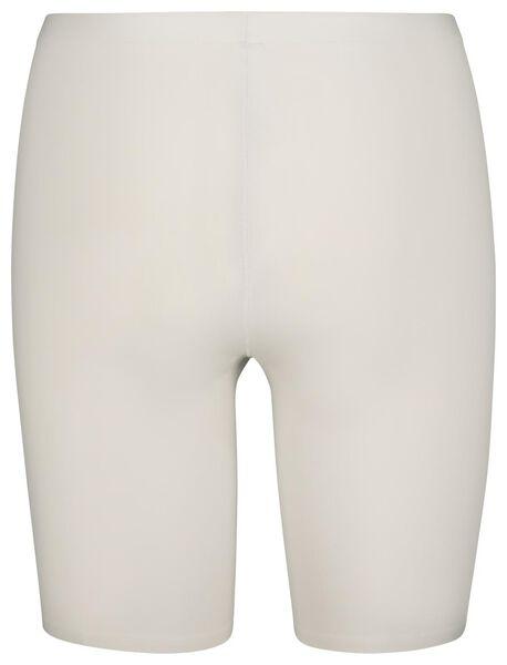 damesbiker second skin wit wit - 1000019520 - HEMA
