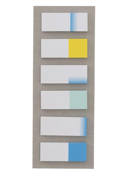 6-pak sticky notes - 14160070 - HEMA