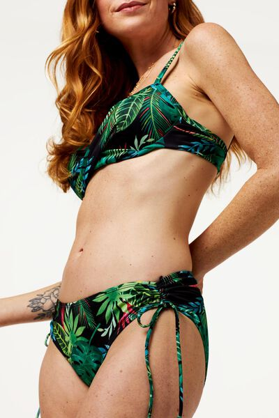 dames bikinitop met beugel cup B-E - flower groen - 1000022866 - HEMA
