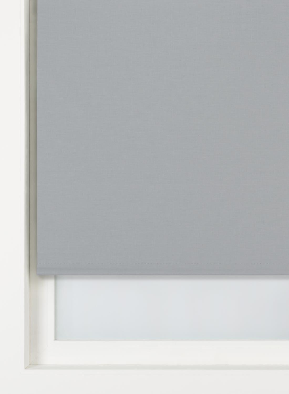 HEMA Rolgordijn Uni Verduisterend/gekleurde Achterzijde (gris)