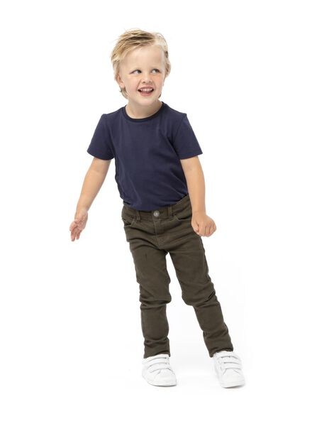 kinder t-shirt - biologisch katoen dobl dobl - 1000003394 - HEMA
