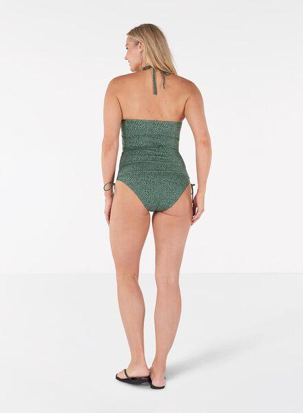 dames tankini strapless groen groen - 1000013815 - HEMA