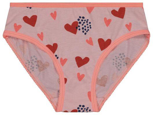 4-pak kinderslips roze roze - 1000018429 - HEMA