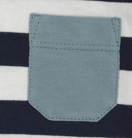 baby t-shirt donkerblauw donkerblauw - 1000020345 - HEMA
