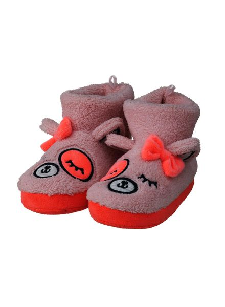 kindersloffen roze roze - 1000008960 - HEMA