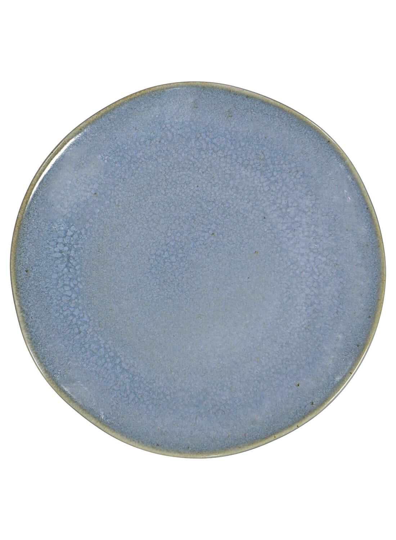 HEMA Gebaksbord – 16.5 Cm – Porto – Reactief Glazuur – Blauw (blauw)