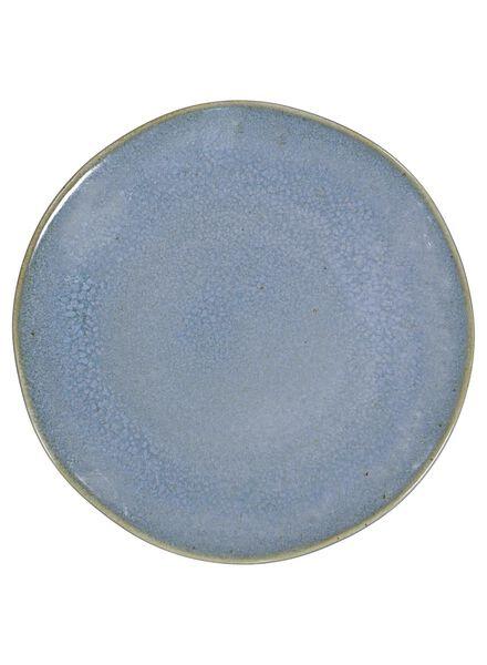 gebaksbord - 16.5 cm - Porto - reactief glazuur - blauw - 9602024 - HEMA