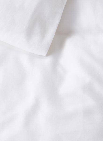 dekbedovertrek - hotel katoen percal - 200 x 200 cm - wit - 5700136 - HEMA