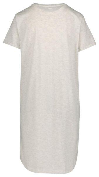 dames nachthemd lichtgrijs - 1000019780 - HEMA