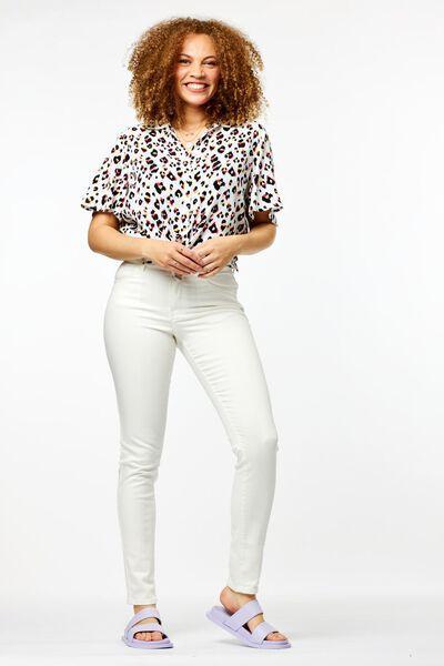damesblouse leopard multi - 1000024013 - HEMA