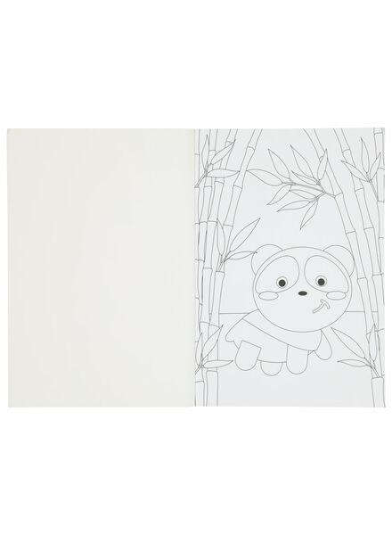 kleur en doe boek - 15910012 - HEMA