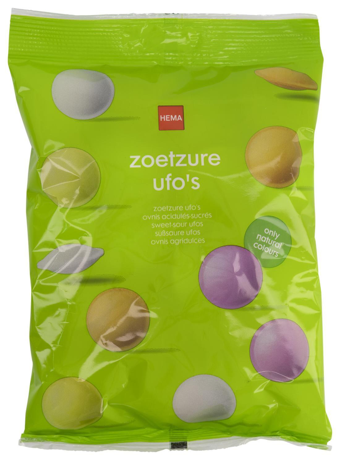 HEMA Zoetzure Ufo's - 50 Gram