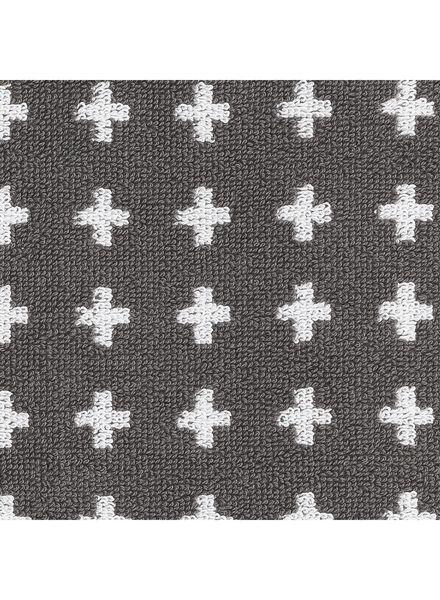 handdoek - 70 x 140 - zware kwaliteit - grijs plus - 5210035 - HEMA