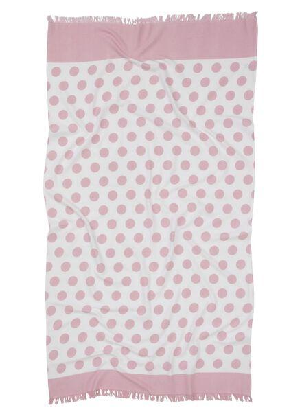 hamamdoek roze roze - 1000015139 - HEMA