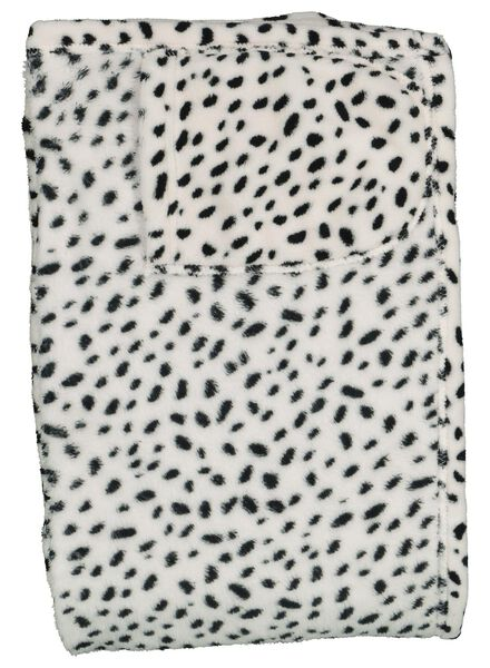 snuggle plaid - dalmatiër - 60310040 - HEMA