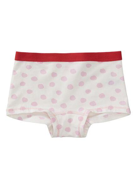 3-pak kinderboxers roze roze - 1000011779 - HEMA