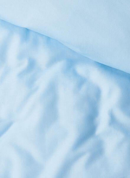 dekbedovertrek - zacht katoen - 240 x 220 cm - lichtblauw lichtblauw 240 x 220 - 5700069 - HEMA
