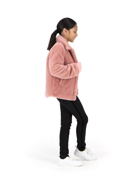 kinderjas roze 110/116 - 30808642 - HEMA