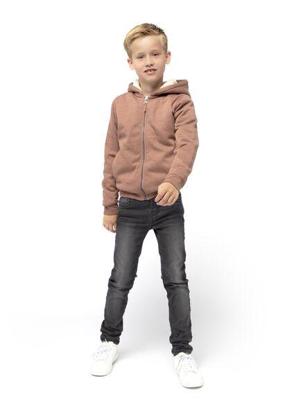 kindervest bruin bruin - 1000016678 - HEMA