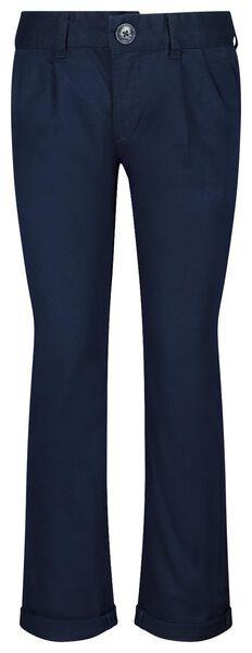 kinderbroek donkerblauw donkerblauw - 1000022419 - HEMA