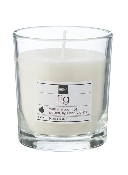 geurkaars in glas fig - 13502310 - HEMA