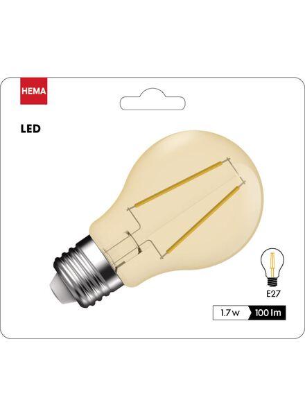 LED lamp goud helder 1,7 watt - grote fitting - 100 lumen - 20090060 - HEMA