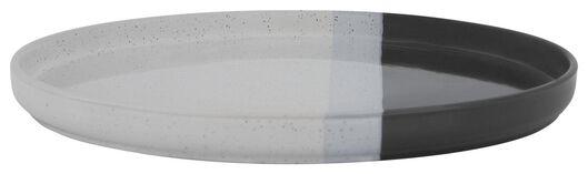 dinerbord - 26 cm - Cordoba - antraciet - 9602122 - HEMA