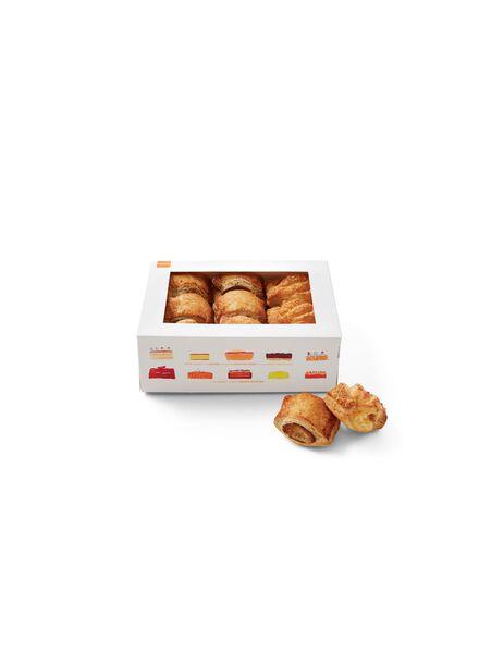 Mix mini saucijs- en kaasbroodjes 15 st. - 6370001 - HEMA
