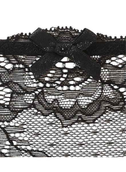 damesstring zwart zwart - 1000002428 - HEMA
