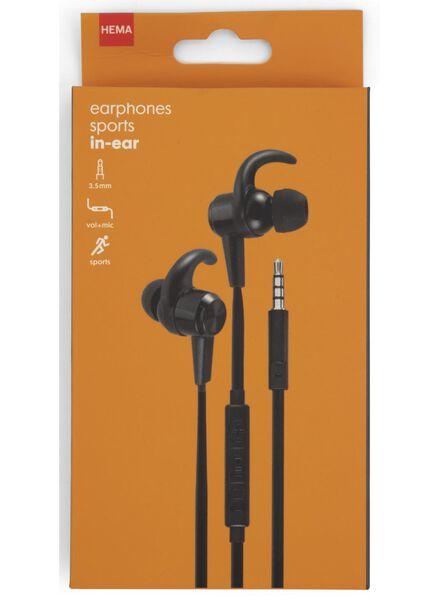 oortelefoon in-ear sport - 39630137 - HEMA