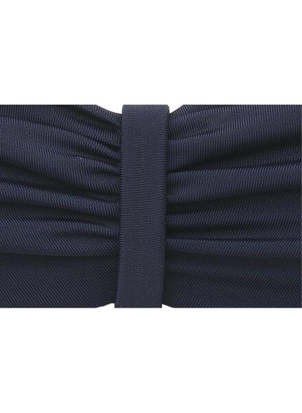 dames halter bikinitop blauw blauw - 1000012190 - HEMA