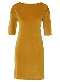 damesjurk geel geel - 1000008804 - HEMA