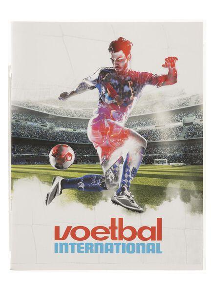 3-pak schriften A5 gelinieerd Voetbal International - 14940210 - HEMA