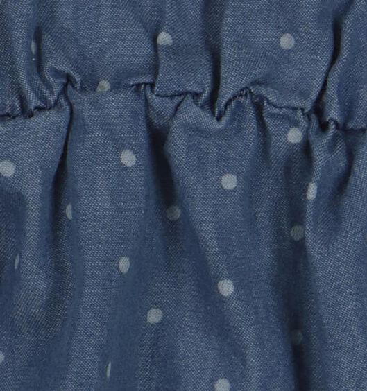 baby jurk denim 74 - 33081323 - HEMA