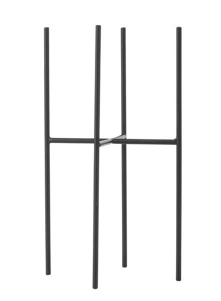 bloempot houder - 15 x 28.5 cm - zwart - 13390028 - HEMA