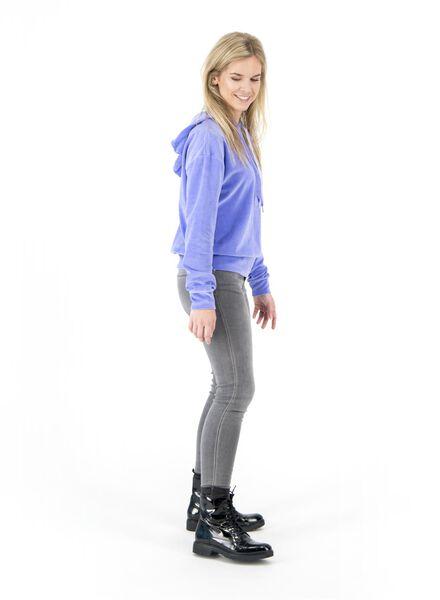 dames hoodie lichtblauw lichtblauw - 1000017133 - HEMA