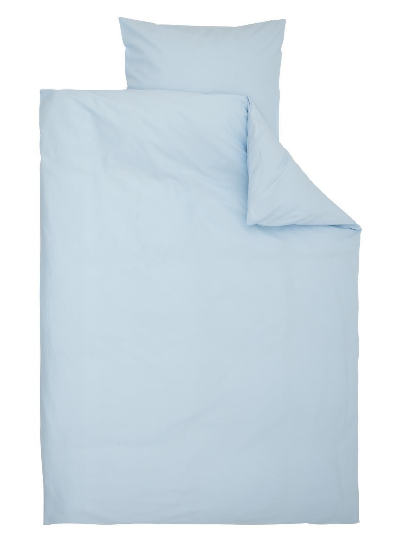 hema katoenen dekbedovertrekset 140 x 200 cm bleu clair