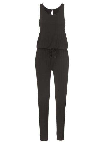 dames jumpsuit zwart zwart - 1000004579 - HEMA