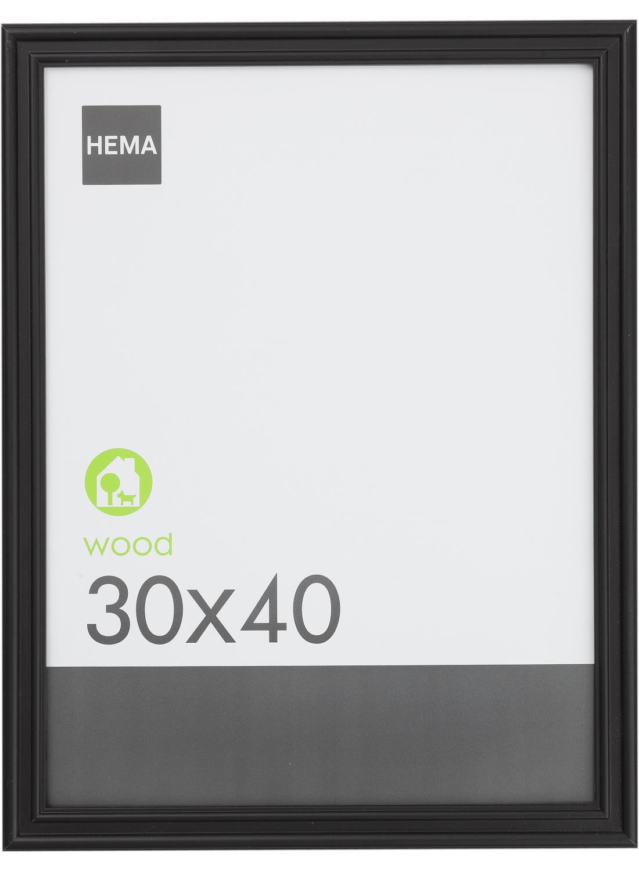 HEMA Fotolijst 30 X 40 Cm (Black)