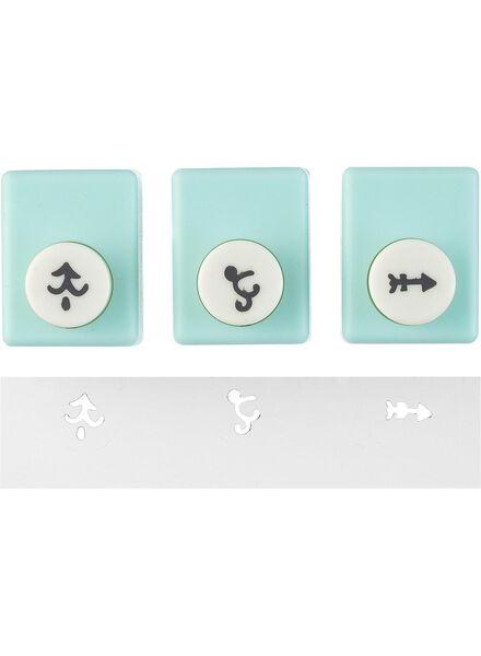 puncher klein - 3 stuks - 14890166 - HEMA