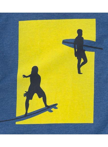 kinder t-shirt donkerblauw donkerblauw - 1000007724 - HEMA