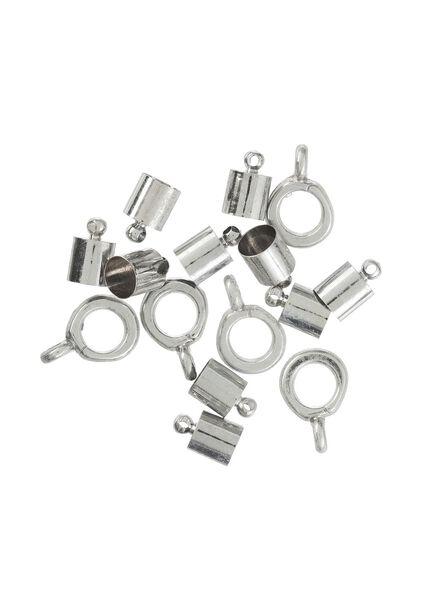 eindkapjes en alloy schuivers - 15980075 - HEMA